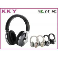 Quality Professional Stainless Steel Headband / Over Ear Bluetooth Headphones 20Hz ~ 20KHz for sale