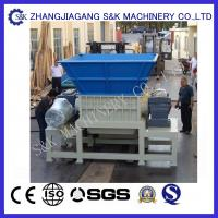 Wholesale PLC Control Double shaft Plastic Crusher Machine For TV Shell from china suppliers