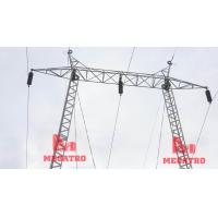Buy cheap 110KV Gantry type single circuit transmission steel structure from wholesalers