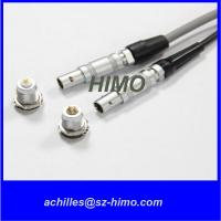 Wholesale wholesale M7 Metal Gold Plated 0.7mm Pin lemo Coaxial Connector from china suppliers