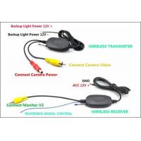 Quality Wireless back camera 4.3 inch Digital TFT-LCD Reverse Rear View Mirror car Monitor Car back up for sale