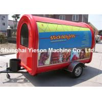 Wholesale Iso9001 CE Approved Portable Food Kiosk Fiber Glass For Chips from china suppliers