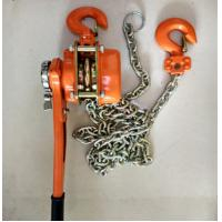 Wholesale Capacity 6 ton lever chain hoist  Cable Pulling Tools height 1.5m chain dia 10mm from china suppliers