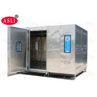 Buy cheap 20% - 98% Rh Walk In Climatic Stability Chamber Electronic For Auto Spare Parts from wholesalers