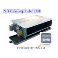 Wholesale Ceiling concealed duct fan coil unit with MOD BUS thermostat-800CFM from china suppliers