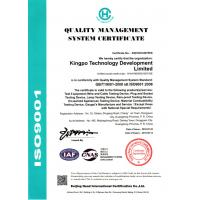KingPo Technology Development Limited Certifications