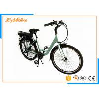 Wholesale Custom Ladies Electric Bike 25km/H , Electric Assist Bike Bicycle With Electric Motor from china suppliers