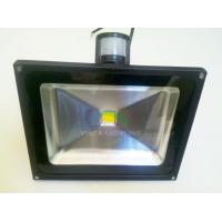 Wholesale 50W LED flood lights with PIR AC85-265V CE ROHS FCC from china suppliers