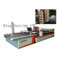 Wholesale Multi - Layer Automatic Cloth Cutting Machine 4000rpm / Min Blade Working from china suppliers