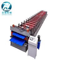 Buy cheap Electric Cutting Metal Double Layer Roofing Sheet Roll Forming Machine With CE from wholesalers