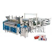 Wholesale Automatic high speed toilet paper embossed rewinding bathroom tissue making machine from china suppliers