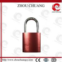 Wholesale 38mm Steel Shackle Diameter Auto-Populated  Safety Aluminum  Padlock from china suppliers