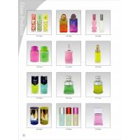 Wholesale Color Coating Perfume Glass Bottles 100ML With Glass / Crystal Cap from china suppliers