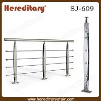 Wholesale Modern Stainless Steel Rod Balustrade for Staircase (SJ-609) from china suppliers
