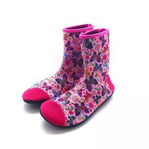 China Quick Dry 2 MM Neoprene Water Boots Non Slip Aqua Neoprene Socks Waterproof on sale