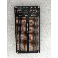 Wholesale 1.5mm OPS Black Universal Prototype PCB Board 105 * 55mm Short Circuit Protection from china suppliers