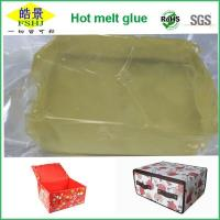 Wholesale Light Yellow Clear PSA Hot Melt Glue Block For Non Woven Goods Non Aging from china suppliers