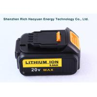 Wholesale 20Volt 3.0Ah LI-ION Dewalt Power Tool Batteries Rechargeable For DCB180 / DCB181 from china suppliers