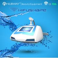 Wholesale Newest beauty system hifu beauty device high intensity focused ultrasound hifu slimming machine from china suppliers