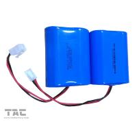 Wholesale Blue 3.2V LiFePO4 Battery / 6000mah battery pack for solar powered remote weather stations from china suppliers