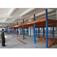 Buy cheap Industrial Mezzanine Floors With Plywood , Warehouse / Office Mezzanine Structures from wholesalers