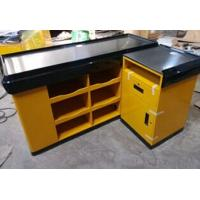 Wholesale Supermarket Shop Retail Store Counters / Cash Register Counter 1500 * 1200 * 850 MM Size from china suppliers