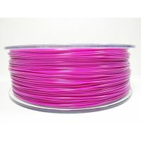 Purple / Yellow ABS 3D Printer Filament 1.75mm + / -0.03mm Tolerance Stable Performance