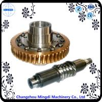 Wholesale Differential Stainless Copper Worm Helical Gear Transmission For Micro Tractor from china suppliers