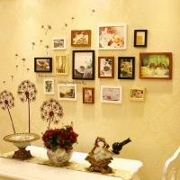 Wholesale wholesale 15 pcs photo wall home design photos Wedding Series Photo Frame Wall from china suppliers