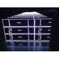 Wholesale Outdoor White Scrolling Led Sign Cabinet For Advertising AC220V / 110V from china suppliers