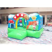 Wholesale Safe Small Commercial Bounce Houses Kids Theme Inflatable Jumping House from china suppliers