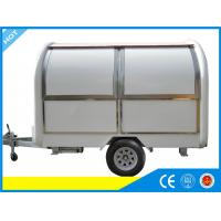 Wholesale Round Outdoor Mobile Catering Van Hire With Commercial Gas Fryers from china suppliers