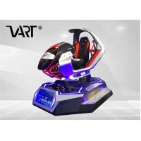 Wholesale Motion Seat Racing Games VR Racing 9D Simulator 4KW For VR Club VR Park from china suppliers