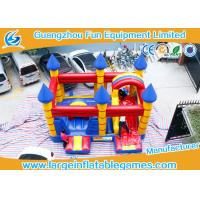 Wholesale Customized Inflatable Bouncy Castle With Slide Jumping Area For Kids from china suppliers