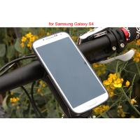 Wholesale Adjustable Bicycle Mount Holder , iPhone Samsung Clamp Universal Mobile Phone Holder from china suppliers
