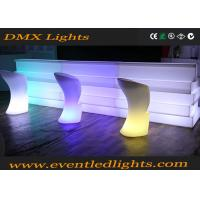 Wholesale Fashionable Remote Control Led Bar Counter , Decorative led lounge furniture from china suppliers