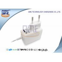 Wholesale Medical Grade EU Plug Power Adapter 5v 1a , White Medical Switching Adapter from china suppliers