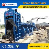 Wholesale PLC automatic control Metal Scrap Baler Shear to cut and press waste steel and Angle Iron from china suppliers
