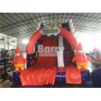 Wholesale Professional Spongebob Commercial Inflatable Slide Fireproof For Kids Playground from china suppliers