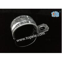 Wholesale Zinc Plated Steel EMT Conduit And Fittings With One-hole Clip / EMT Conduit Strap from china suppliers