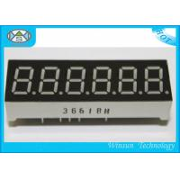 Wholesale High Luminous 7 Segment Led Digital Display 0.36 Inch / 6 Digit 7 Segment Lcd Display from china suppliers