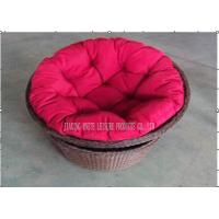 Wholesale Outdoor Rattan Daybed Wicker Lazy Chair Comfortabe for Garden / Hotel from china suppliers