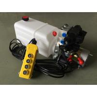 """Wholesale G3/8"""" Oil Port Mini Hydraulic Power Packs , DC 24v Hydraulic Power Pack With 8L Plastic Oil Tank from china suppliers"""