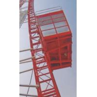 Wholesale Passenger Hoist Loading 2000kg Single Cage Construction Hoist Safety from china suppliers