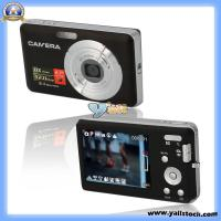 Wholesale DC-E70 2.7′TFT Screen 8x Digital Zoom Camera Black-85002905 from china suppliers