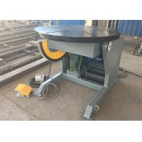 Quality Rotary Table Welding Positioner 0-120dgr tilt 1300mm Dia Precision Gearbox for sale