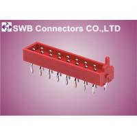Wholesale Male 1.27 mm Board to Board Connectors , Crimping IDC Connectors from china suppliers
