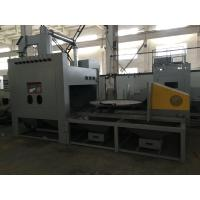Buy cheap Pressure Dust Free Sandblasting Machine Turntable Automatic Working Cabinet from wholesalers