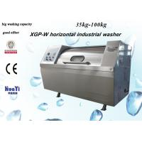 Wholesale 304 Stainless Steel Horizontal Washing Machine For Laundry / Hotel from china suppliers