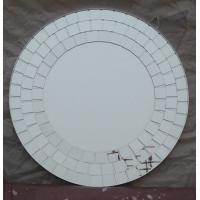 Wholesale Decorative Mirror Small Squares lovella 65cm diameter beveled edge Glass wall Mirrors from china suppliers